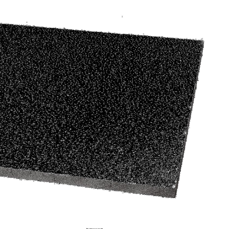 Armstrong Ceilings (Common: 48-in x 24-in; Actual: 47.719-in x 23.719-in) Fine Fissured 12-Pack Black Fissured 15/16-in Drop Acoustic Panel Ceiling Tiles