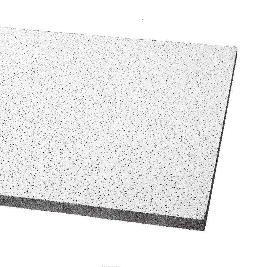Armstrong Ceilings Fine Fissured 6-Pack White Fissured 15/16-in Drop Acoustic Panel Ceiling Tiles (Common: 30-in x 60-in; Actual: 59.719-in x 29.719-in)