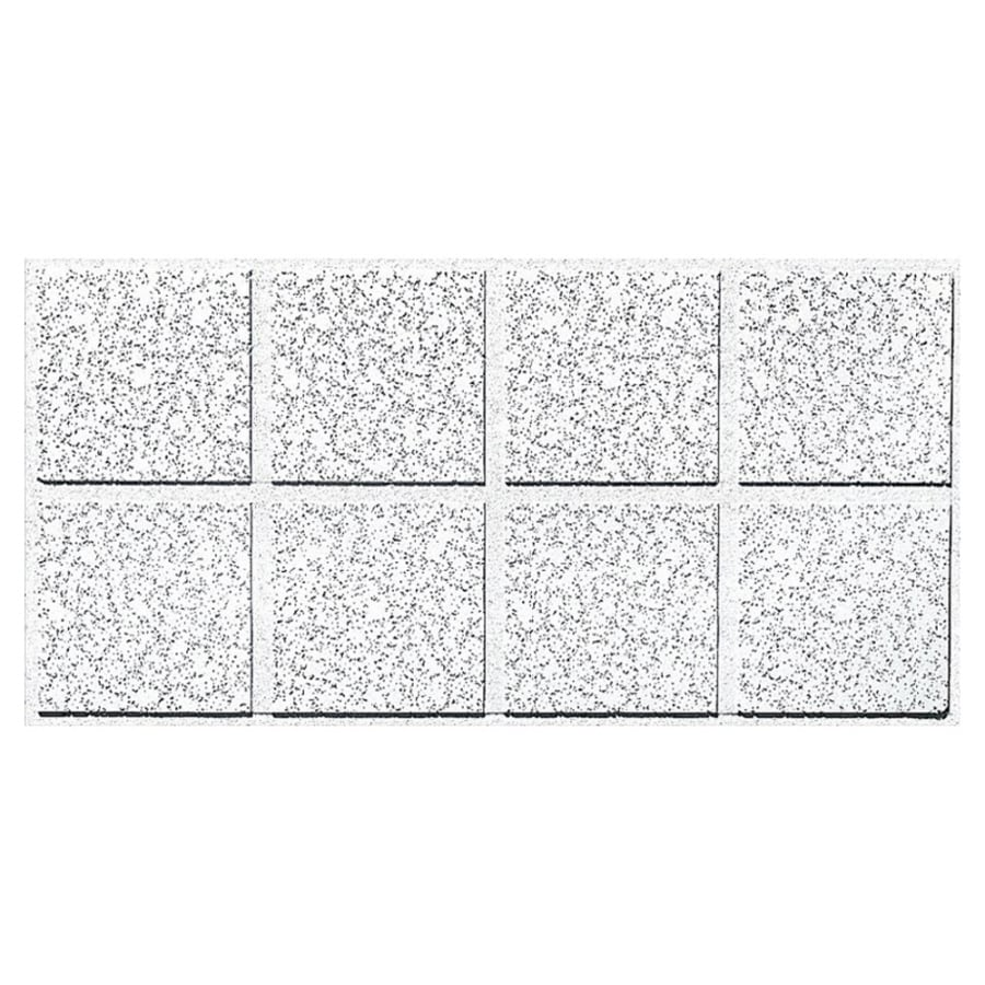 Shop Armstrong Ceilings (Common: 48-in x 24-in; Actual: 47.704-in x 23.704-in) Cortega 10-Pack ...