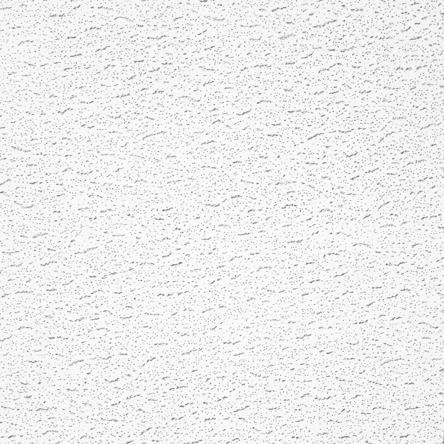 Armstrong Ceilings (Common: 24-in x 24-in; Actual: 23.813-in x 23.813-in) Fissured 16-Pack White Fissured 15/16-in Drop Acoustic Panel Ceiling Tiles
