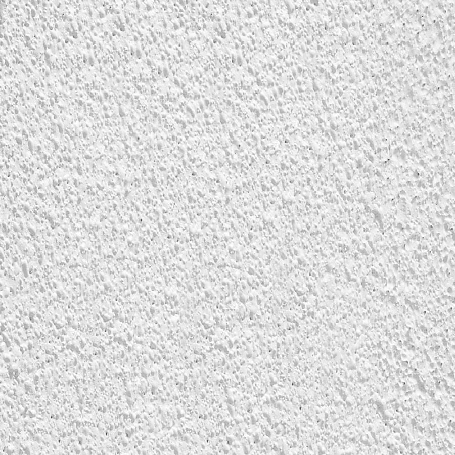 Armstrong Ceilings (Common: 24-in x 24-in; Actual: 23.745-in x 23.745-in) Tundra 12-Pack White Textured 9/16-in Drop Acoustic Panel Ceiling Tiles