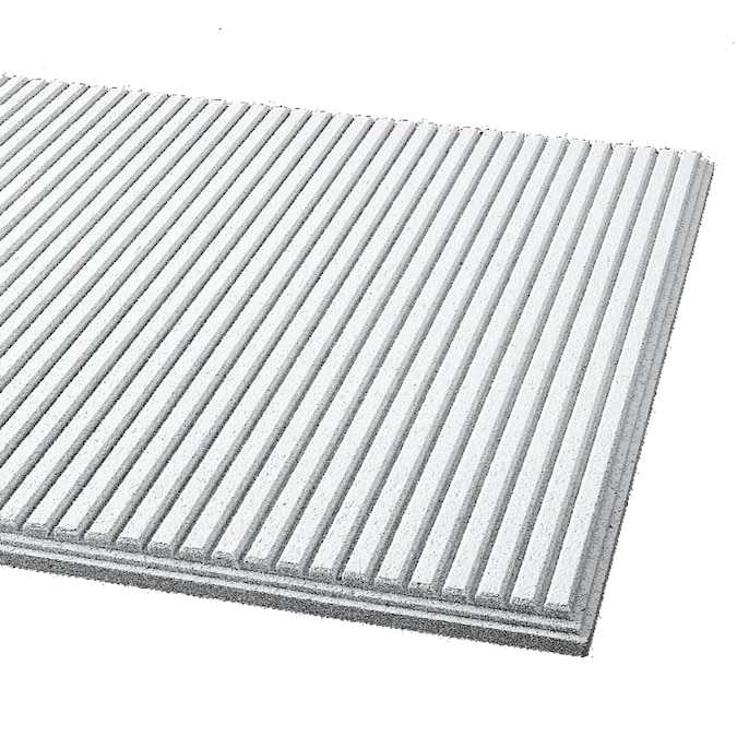 Armstrong Ceilings 24-in x 24-in Graphis Rustex 12-Pack