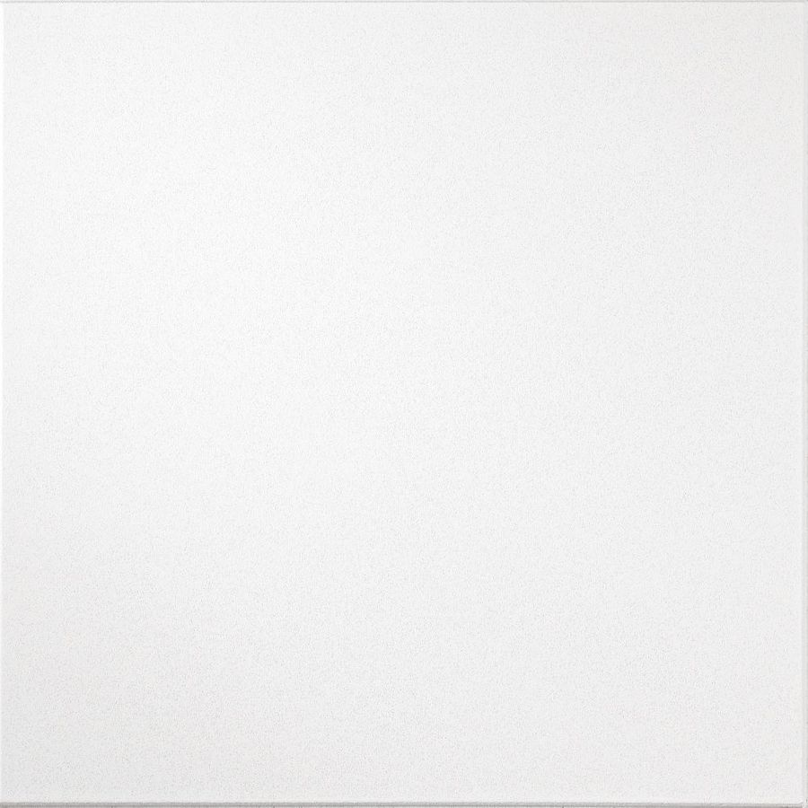 Armstrong Ceilings Brightex Homestyle 8-Pack White Smooth 9/16-in Drop Acoustic Panel Ceiling Tiles (Common: 24-in x 24-in; Actual: 23.735-in x 23.735-in)