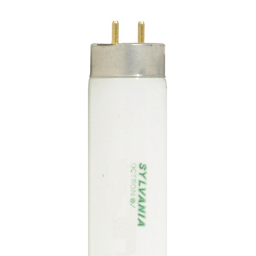 SYLVANIA 30-Pack 47.78-in Miniature Bi-pin (T8) 32-Watt 3000 K Warm White Fluorescent Light Bulb