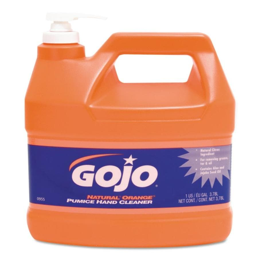 GOJO 4-Pack 128-fl oz Orange Citrus Hand Soap