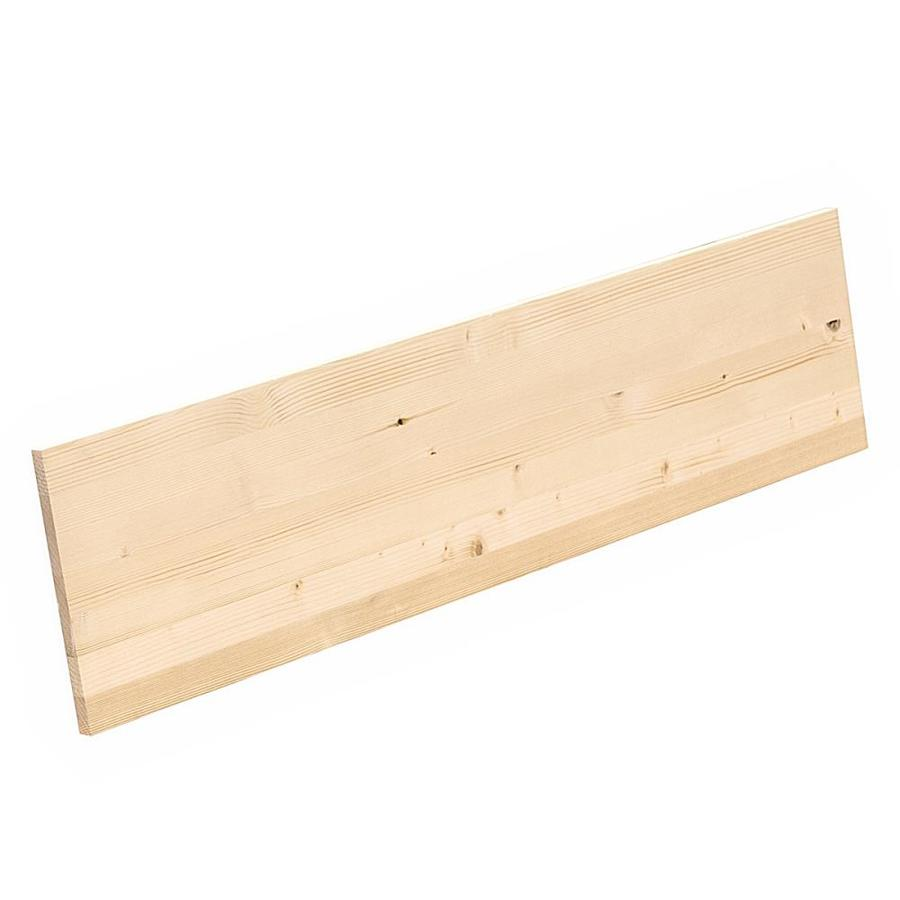 Greenwood Forest Products (Common: 3/4-in x 12-in x 4-ft; Actual: 0.709-in x 11.25-in x 3.98-ft) Edge-Glued Panel Spruce Pine Fir Board