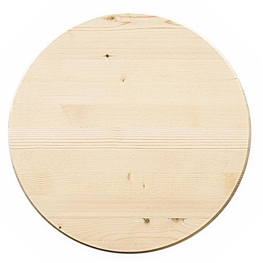 (Actual: 1-in x 18-in x 1.5-ft) Edge Glued Round Radius Edge Whitewood Board