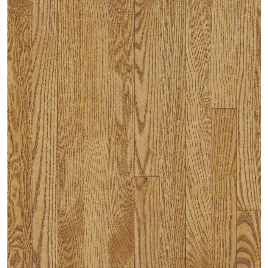 Bruce Dover View Plank 3.25-in W Prefinished Oak 3/4-in Solid Hardwood Flooring (Spice)