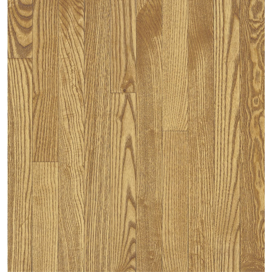 Bruce 2.25-in W x Variable L Oak 3/4-in Solid Hardwood Flooring