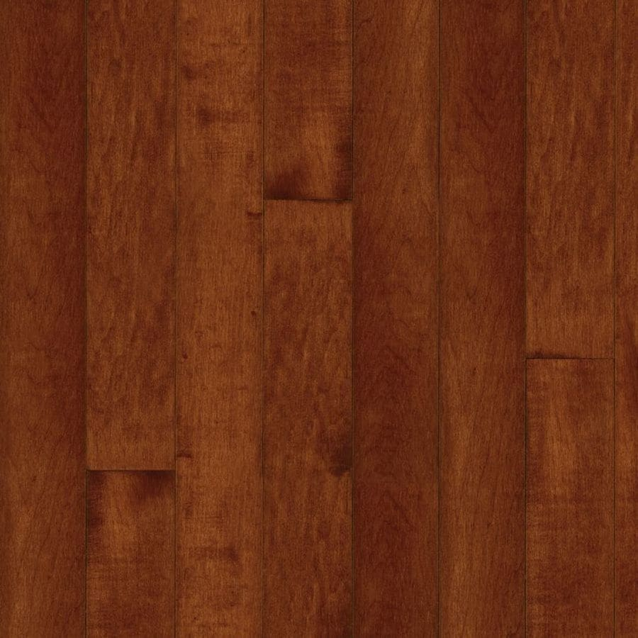 Shop bruce kennedale cherry maple solid hardwood for Solid hardwood flooring
