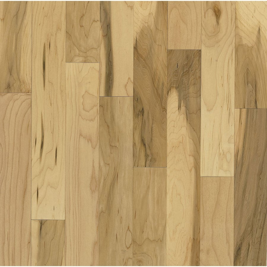 Bruce Kennedale Strip 2 25 In W Prefinished Maple Hardwood Flooring Country Natural