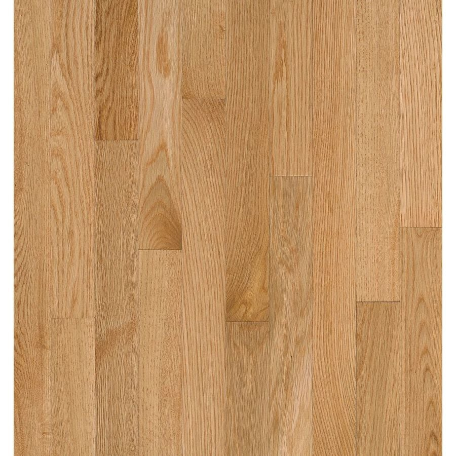 Shop bruce natural reflections w prefinished oak for Natural oak wood flooring