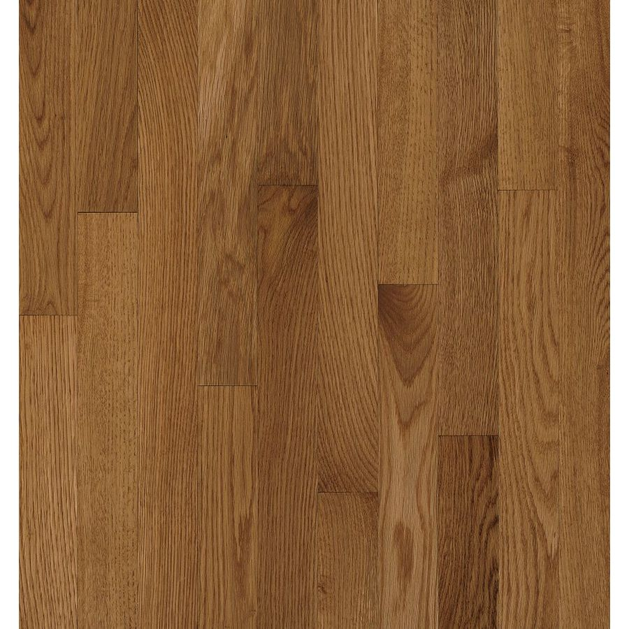 Shop bruce natural choice mellow oak solid for Real oak hardwood flooring