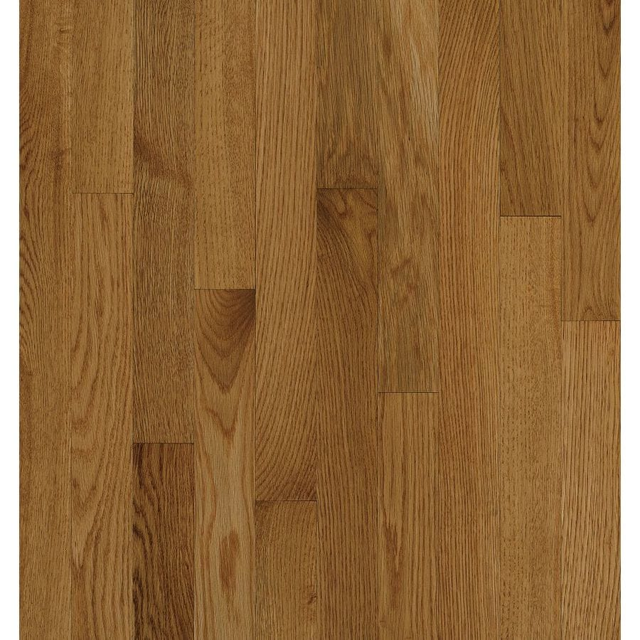Shop bruce natural choice spice oak solid hardwood for Natural oak wood flooring