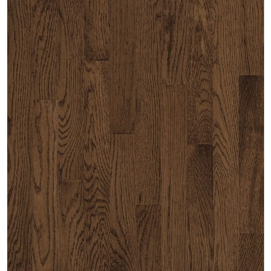 Shop bruce natural choice walnut oak solid for Real oak hardwood flooring