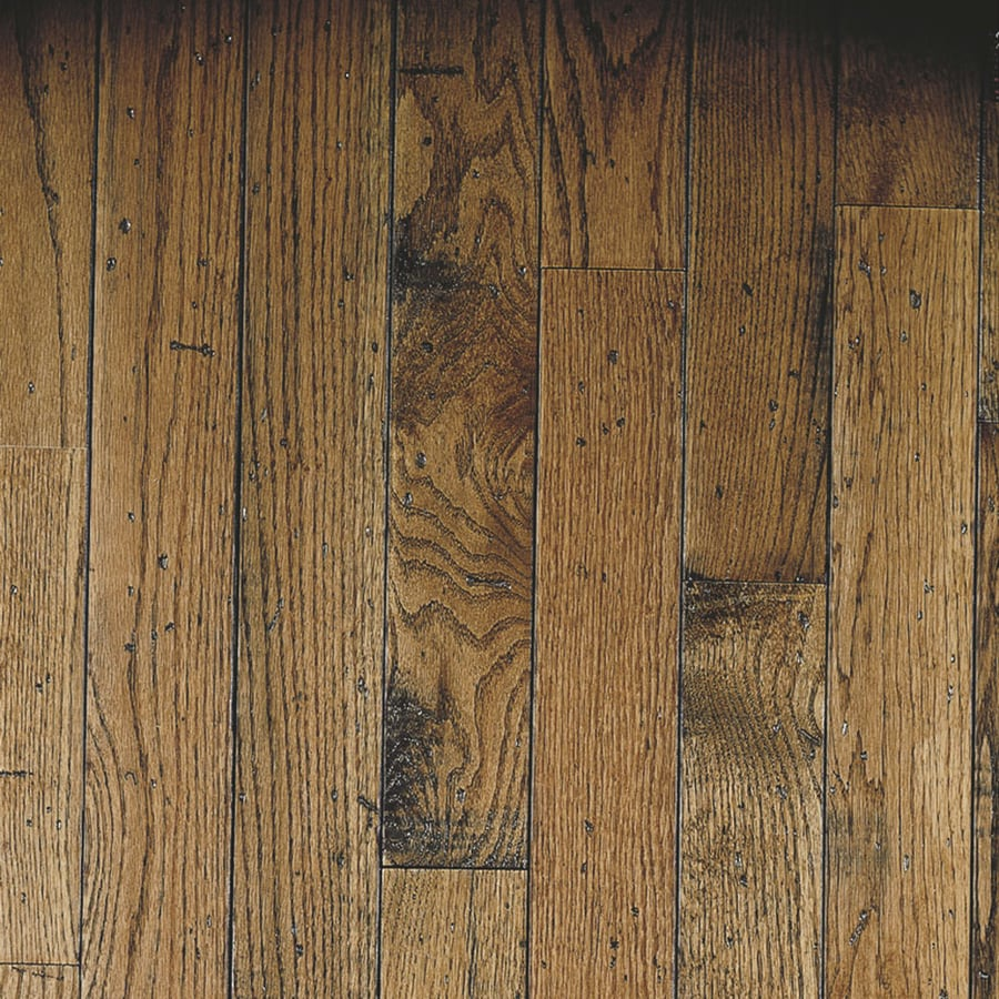 Shop bruce gentry plank w prefinished oak hardwood for Bruce hardwood flooring