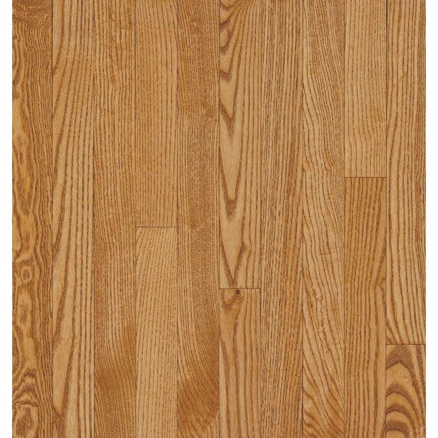 Bruce Barrett Strip 2.25-in W Prefinished Oak Hardwood Flooring (Spice)