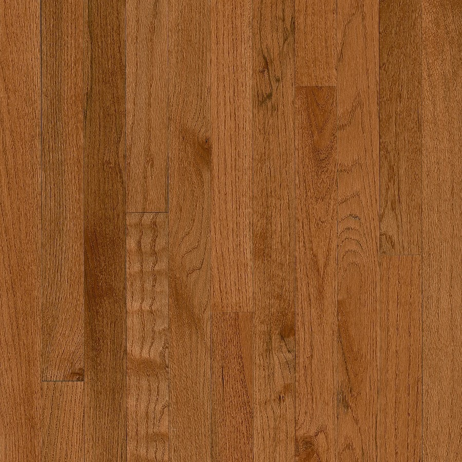 Bruce America S Best Choice 2 25 In Gunstock Oak Solid Hardwood Flooring 20 Sq