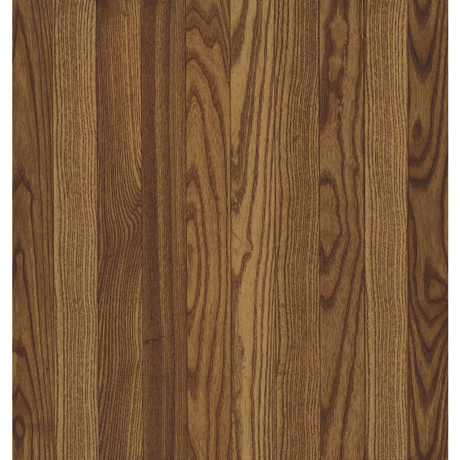 Shop bruce oak hardwood flooring sample gunstock at for Bruce hardwood flooring