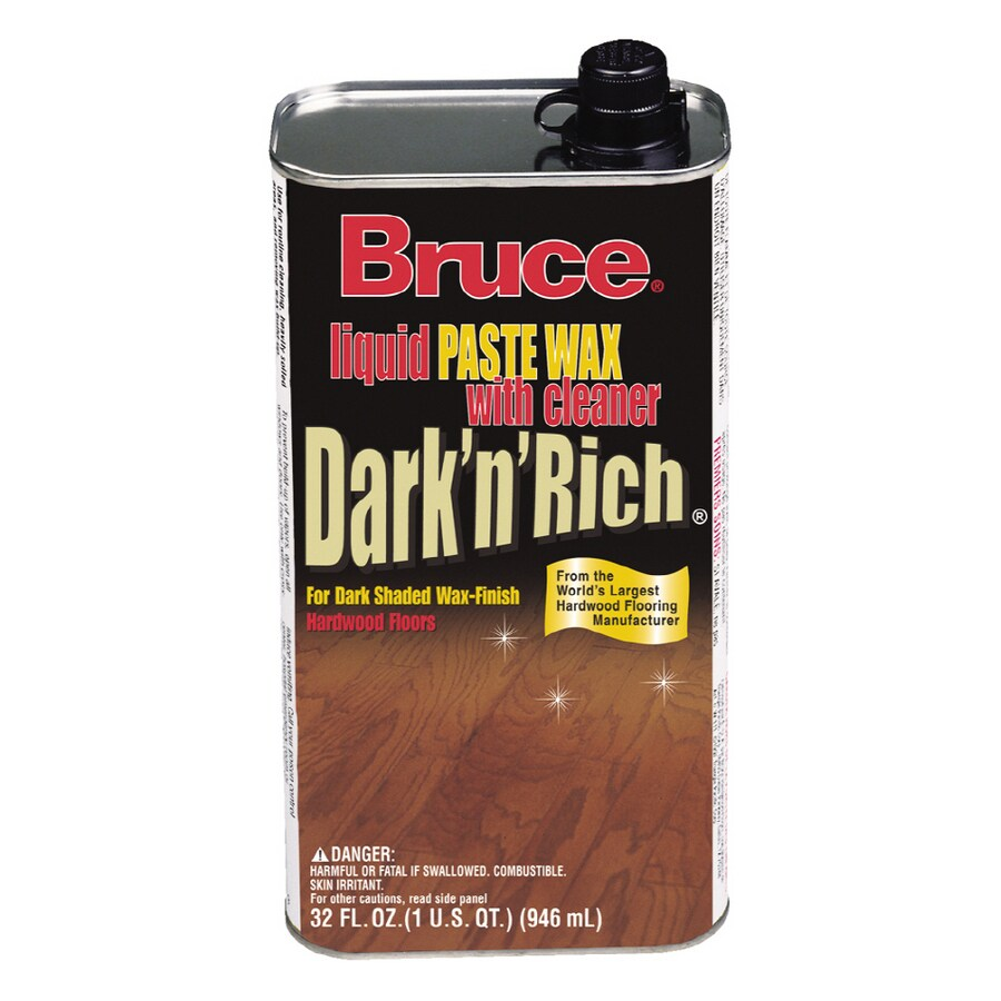shop bruce 32 oz. dark and rich wax at lowes