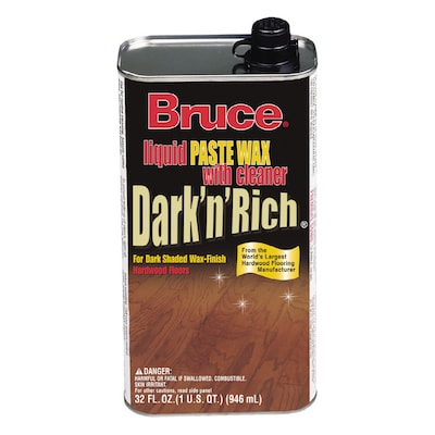 Bruce 32 Oz  Dark and Rich Wax at Lowes com