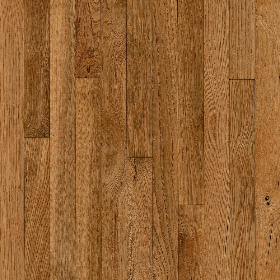 Shop bruce america 39 s best choice butterscotch oak for Solid oak wood flooring
