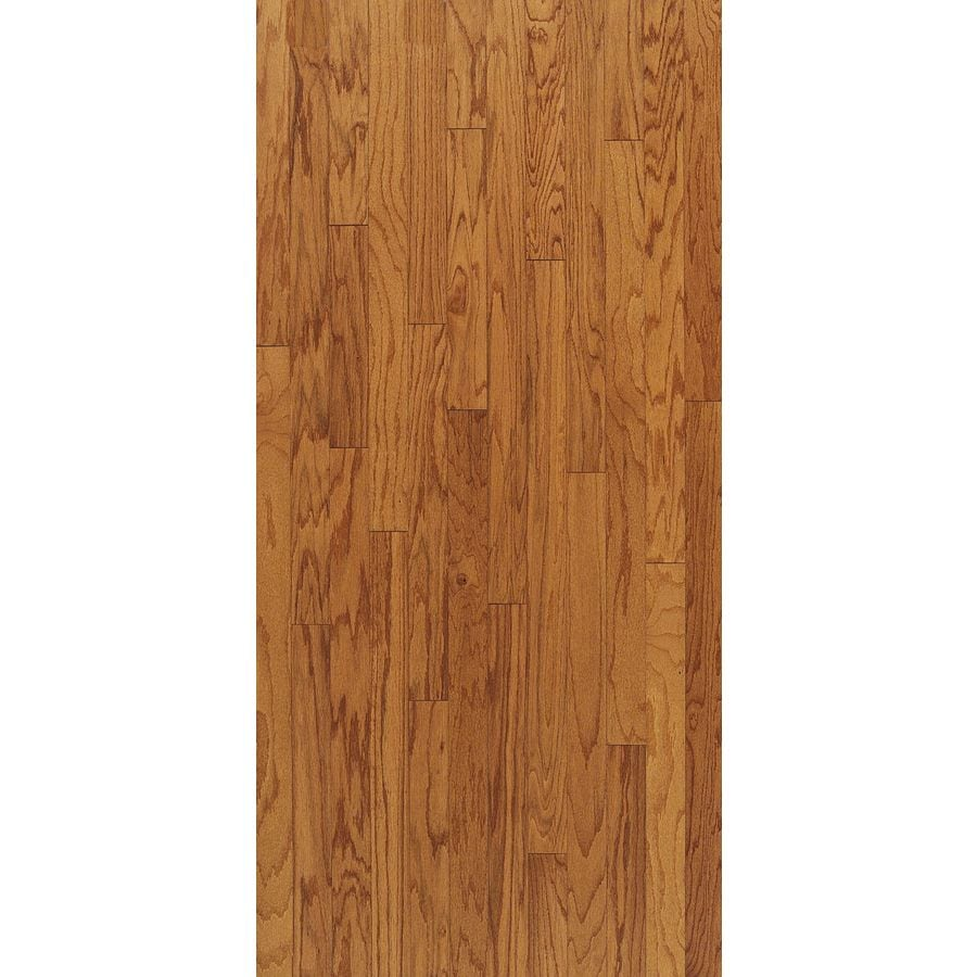 Shop bruce turlington 3 in butterscotch oak engineered for Bruce hardwood flooring
