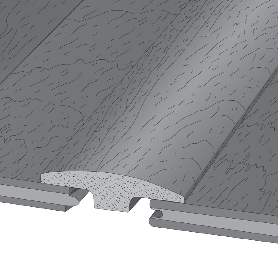 Armstrong 2-in x 78-in T-Moulding Floor Moulding