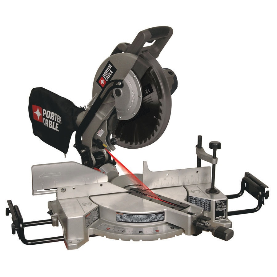 PORTER-CABLE 12-in 15-Amp Bevel Laser Compound Miter Saw