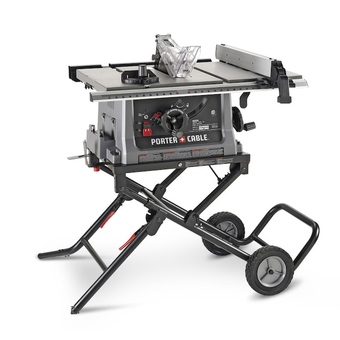 Porter Cable 10 In Carbide Tipped Blade 15 Amp Table Saw In The Table Saws Department At Lowes Com