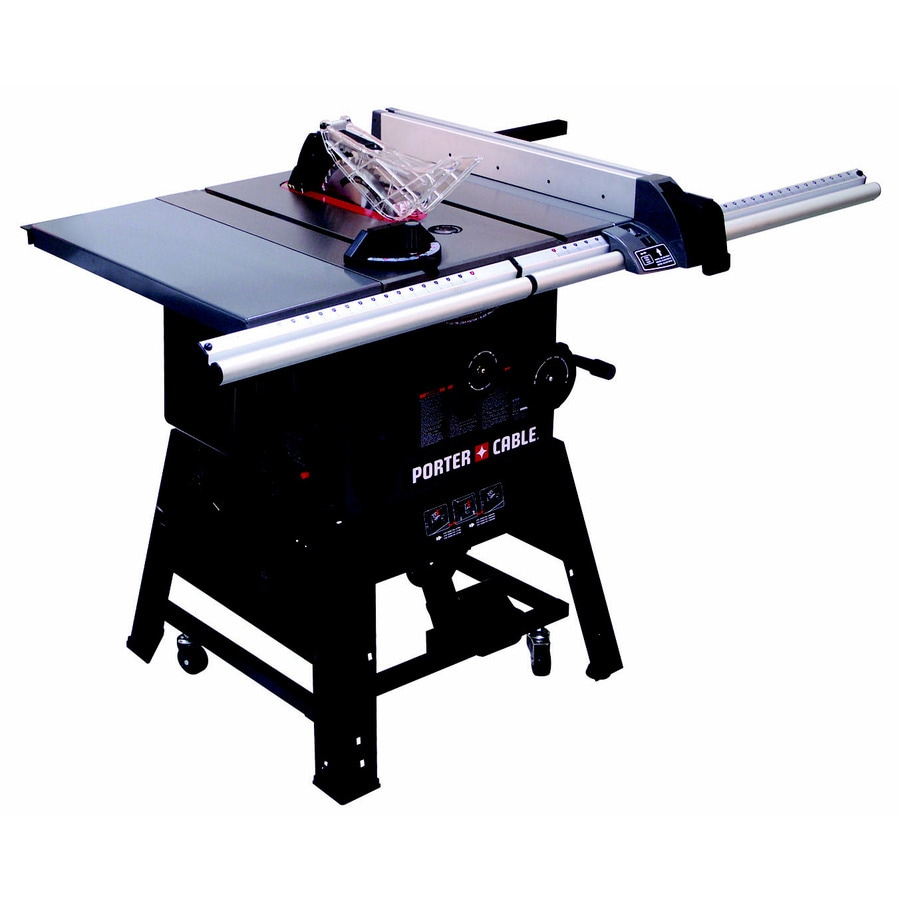 Shop porter cable 15 amp 10 in carbide tipped steel table saw at porter cable 15 amp 10 in carbide tipped steel table saw greentooth Choice Image