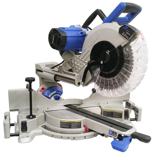 Kobalt 12 In 15 Amp Dual Bevel Sliding Compound Miter Saw In The Miter Saws Department At Lowes Com