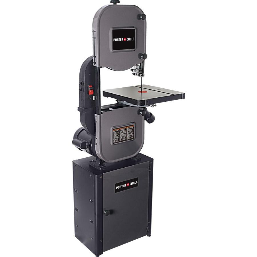 Shop Porter Cable 13 625 In 10 Amp Stationary Band Saw At