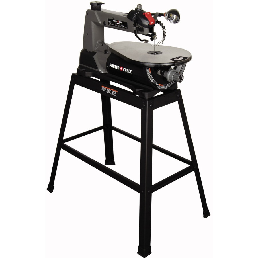 Shop porter cable 1 6 amp variable speed scroll saw at for Table th no scroll
