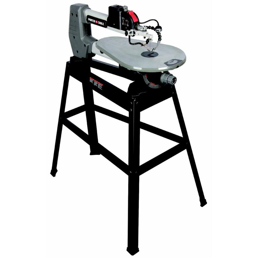 Shop scroll saws at lowes porter cable 16 amp variable speed scroll saw greentooth Choice Image