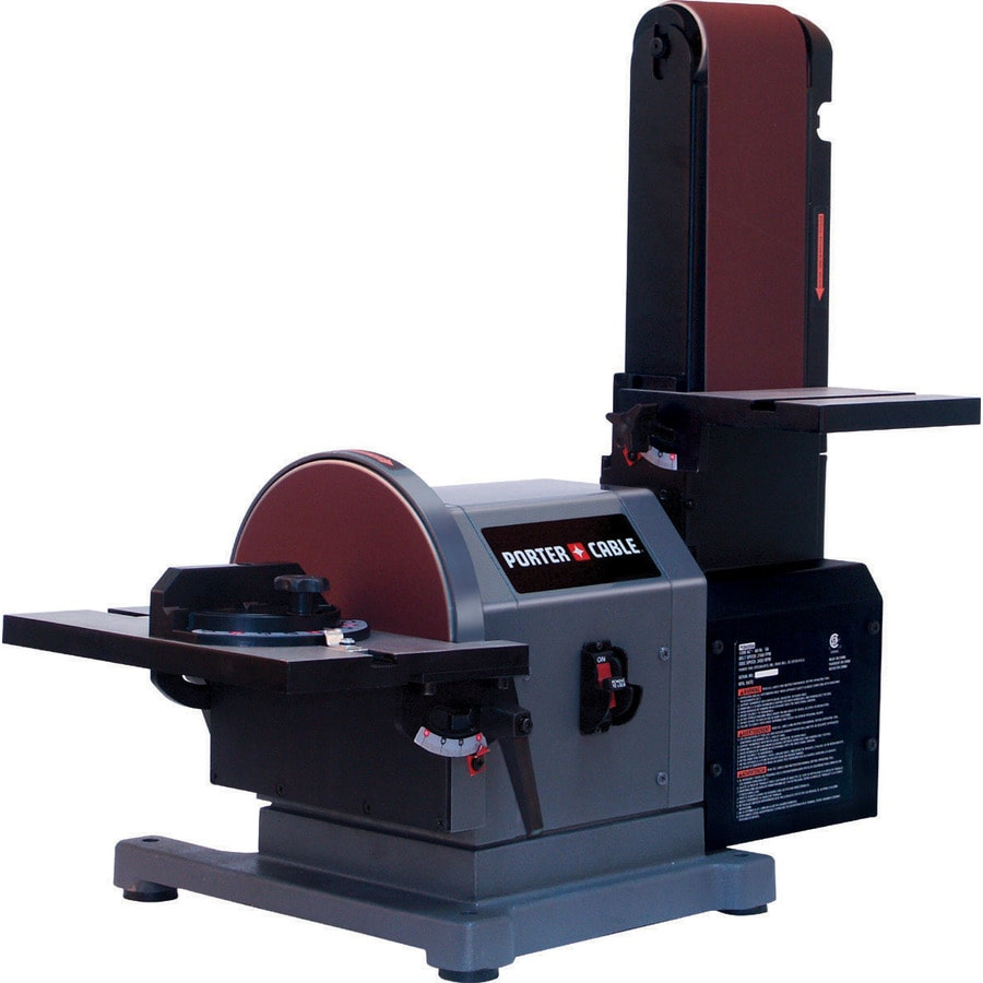 shop porter cable 5 amp benchtop sander at. Black Bedroom Furniture Sets. Home Design Ideas