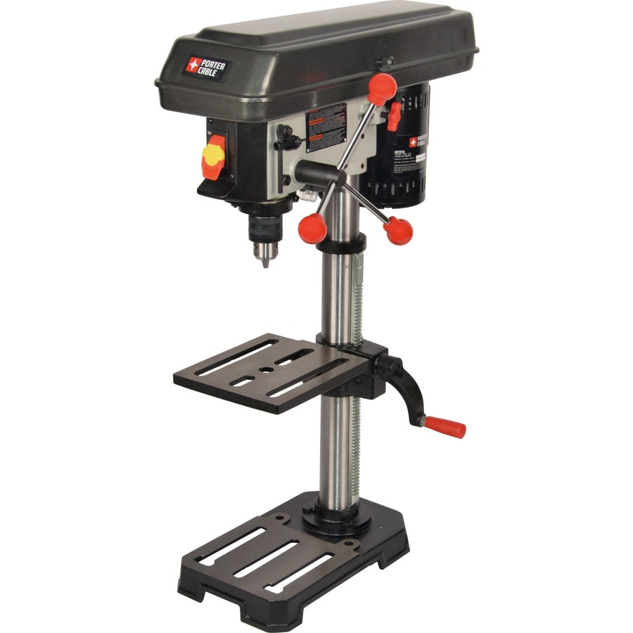 Shop Porter Cable 3 2 Amp 5 Speed Bench Drill Press At