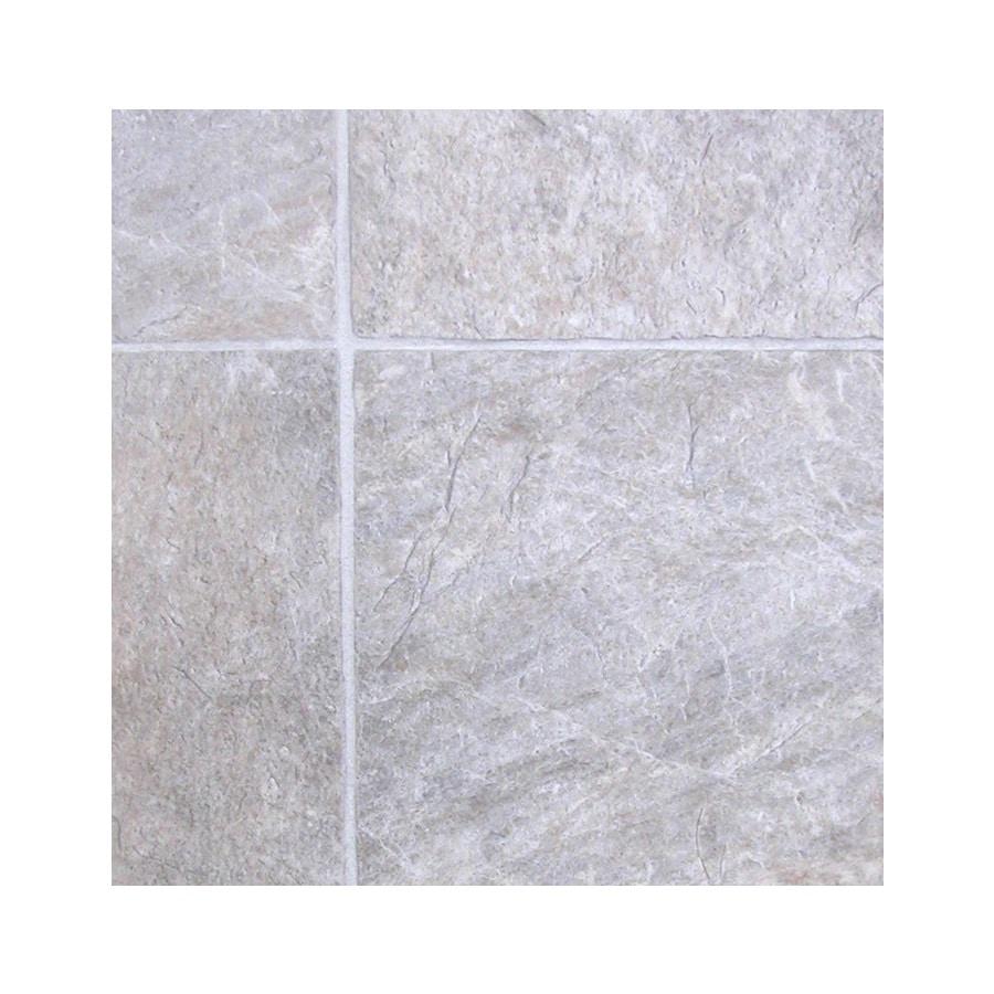 Tarkett Berkshire 12-ft W Creamy Grey Tile Low-Gloss Finish Sheet Vinyl