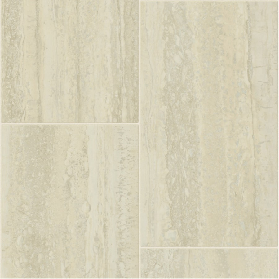 Tarkett Lifetime 12-ft W x Cut-to-Length Cremona Tile Low-Gloss Finish Sheet Vinyl