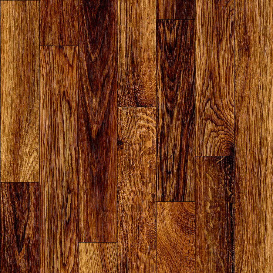 ... ft W Gunstock Wood-Look Low-Gloss Finish Sheet Vinyl at Lowes.com
