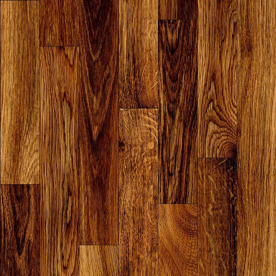 Tarkett Berkshire 6-ft W x Cut-to-Length Gunstock Wood-Look Low-Gloss Finish Sheet Vinyl
