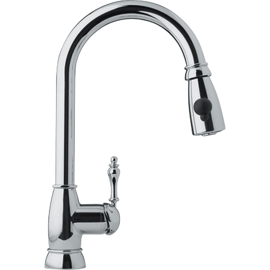 Franke Farm House Chrome 1-Handle Pull-Down Kitchen Faucet