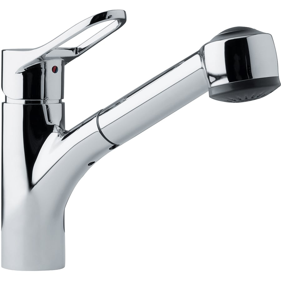 Franke Kitchen Faucet: Franke Mambo Chrome 1-Handle Pull-Out Kitchen Faucet At