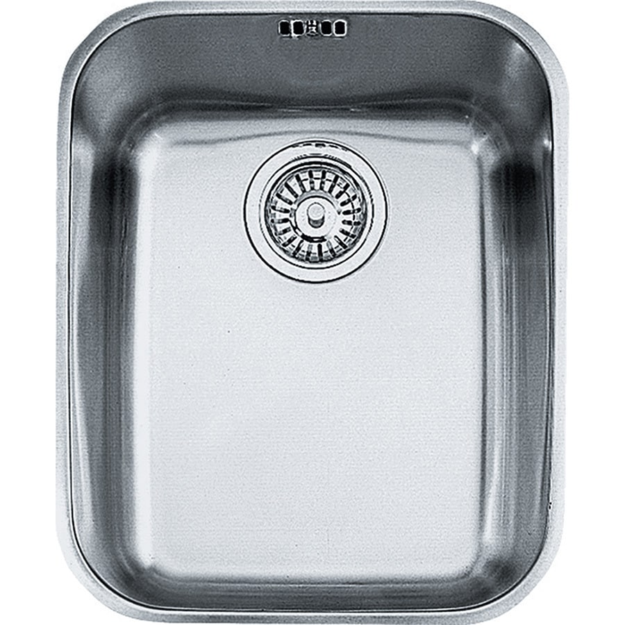 Franke Artisan 17.9375-in x 14.625-in Stainless Steel Single-Basin Undermount Residential Kitchen Sink