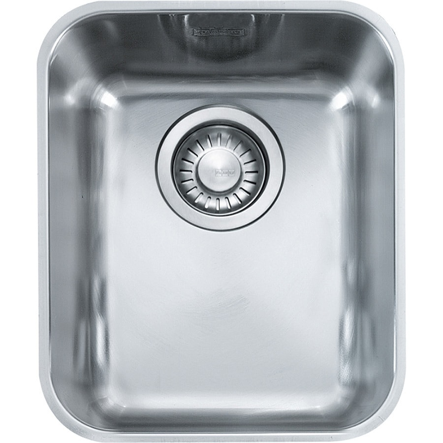 Franke Largo 18.5-in x 15.125-in Stainless Steel Single-Basin ...