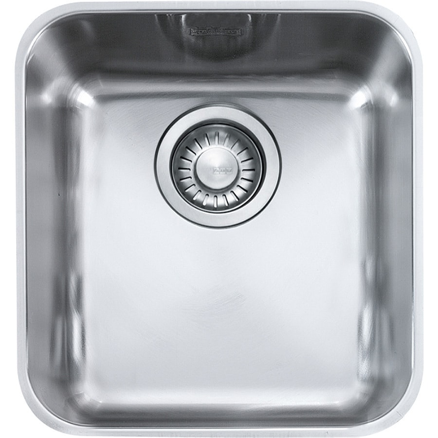 Franke Largo 18.5-in x 16.3125-in Single-Basin Stainless Steel Undermount Residential Kitchen Sink