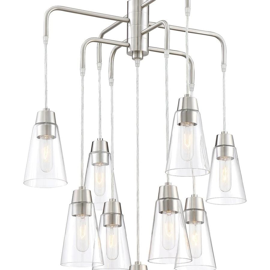 cascadia lighting echo 9 contemporary electrical outlet clear glass