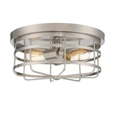 Designers Fountain Anson 13 In Satin Platinum Modern