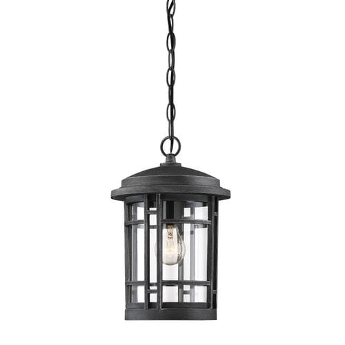 Designers Fountain Barrister 1 Light Outdoor Hanging Lantern In The Ceiling Light Mounts Department At Lowes Com