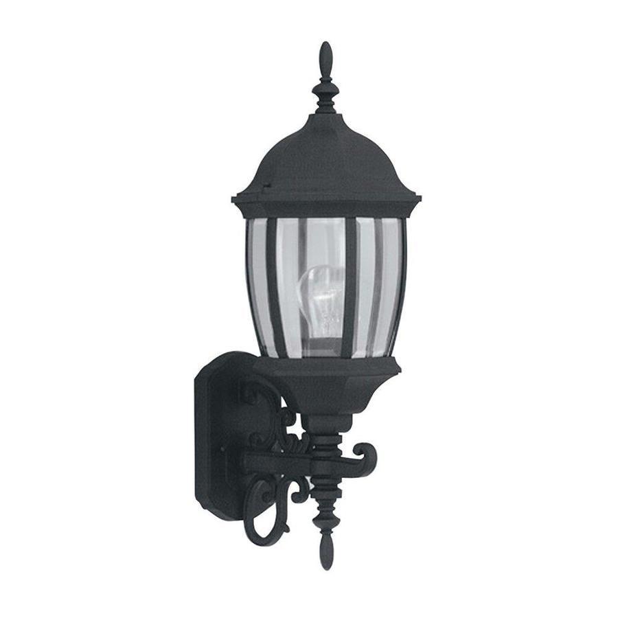 Bedfords Medium Pedestal Lantern In Black: Designers Fountain Tiverton 21.5-in H Black Medium Base (E